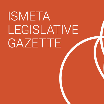 ismeta legislative gazette